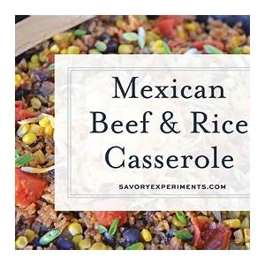 mexican-beef-rice-casserole-youtube image