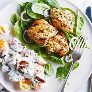 lemon-garlic-chicken-with-creamy-basil-sauce-chickenca image