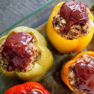 dads-stuffed-bell-peppers-recipe-simply image