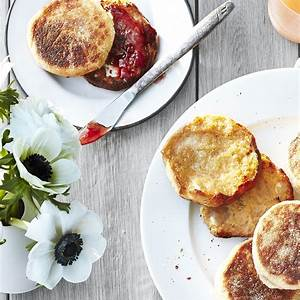honey-whole-wheat-english-muffins-recipe-real-simple image