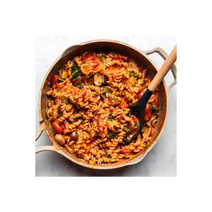 easy-one-pot-pasta-cozy-healthy-20-minute-dinner image