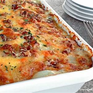 bacon-au-gratin-potatoes-recipe-everyday-dishes image
