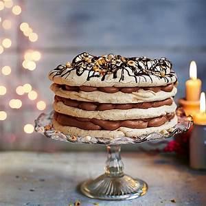 hazelnut-meringue-cake-recipe-delicious-magazine image