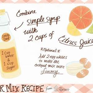 how-to-make-fresh-sweet-and-sour-mix-for-cocktails image