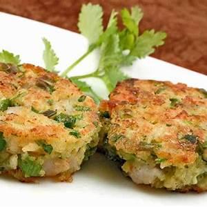 scallion-lime-shrimp-cakes-recipe-mygourmetconnection image