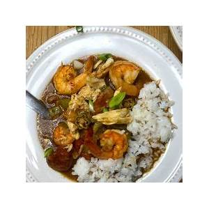 shrimp-crab-and-sausage-gumbo-everyday-creole image