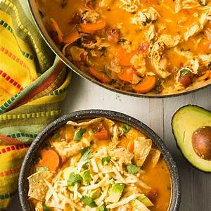 the-best-chicken-tortilla-soup-recipe-video-a-spicy image