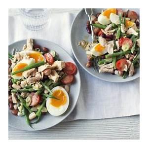 tuna-bean-salad-recipe-bbc-food image