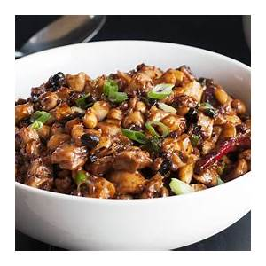 chicken-stir-fry-recipe-with-black-beans-chiles-peanuts image