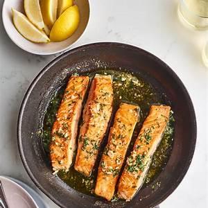 garlic-butter-pan-seared-salmon-kitchn image