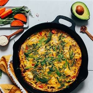 spring-frittata-with-leeks-asparagus-and-sweet-potato image