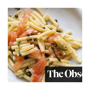 nigel-slaters-pasta-with-smoked-salmon-and-peppercorn image