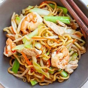 chow-mein-the-best-recipe-online-rasa-malaysia image