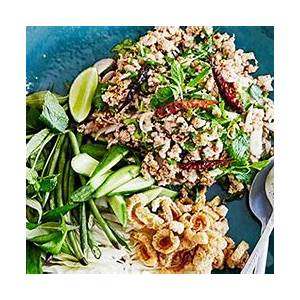 larb-gai-recipe-by-chat-thais-amy-chanta-gourmet-traveller image