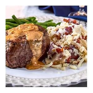 beef-tenderloin-with-parmesan-cream-sauce image