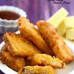 deep-fried-cheese-toast-recipe-vegetarian image