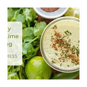 creamy-cilantro-lime-dressing-recipe-easy-dressing image
