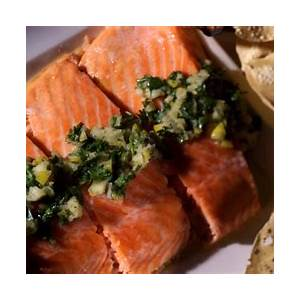 slow-baked-salmon-filet-with-preserved-lemon-and-herb image