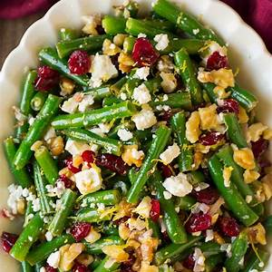 lemon-butter-green-beans-with-cranberries-walnuts-and-feta image