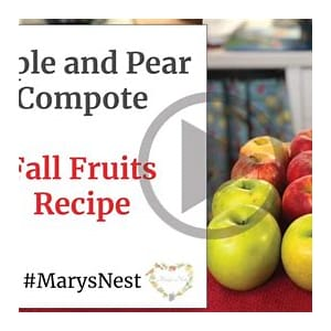 cinnamon-spiced-apple-and-pear-fruit-compote-recipe-video image