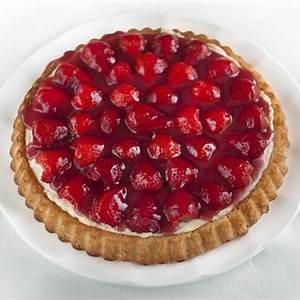 strawberry-flan-recipe-for-kaffee-und-kuchen-with image