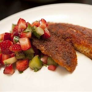blackened-fish-with-strawberry-kiwi-salsa image