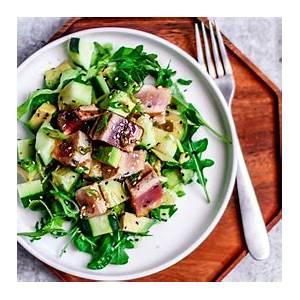 grilled-tuna-steak-salad-with-wasabi-vinaigrette image