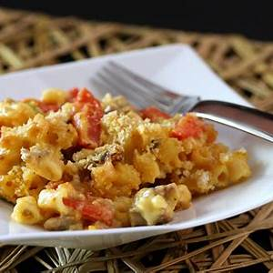 macaroni-and-cheese-with-sausage-recipe-the-spruce-eats image