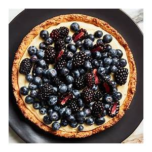 fresh-fruit-tart-with-almond-crust-recipe-bon-apptit image