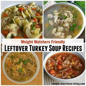 7-skinny-leftover-turkey-soup-recipes-for-weight-watchers image