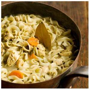 the-ladys-homemade-chicken-noodle-soup image