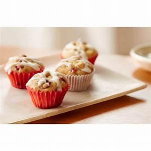 glazed-cranberry-mini-cakes-recipe-hersheys image