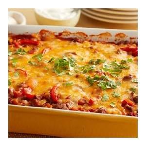 beef-tortilla-taco-casserole-recipe-pillsburycom image