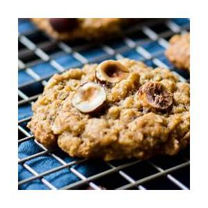 chewy-oatmeal-hazelnut-cookies image