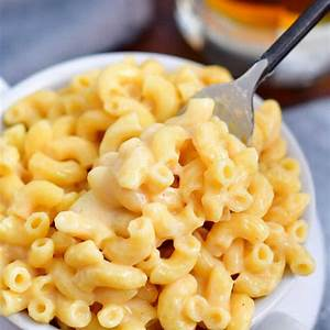 beer-cheese-sauce-mac-and-cheese-bold-and-easy-pasta image