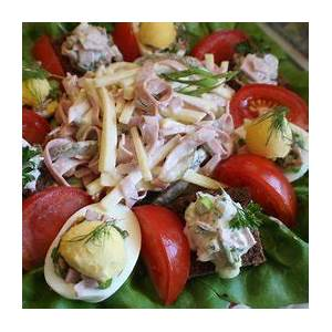 fleischsalat-german-style-meat-salad-kitchen-project image