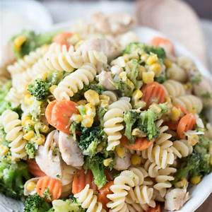 garlic-chicken-pasta-voila-copycat-recipe-freezer image