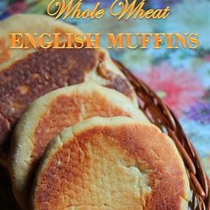100-whole-wheat-english-muffins-recipe-yummy-tummy image