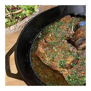 pork-chops-with-maple-mustard-capers-rachael image