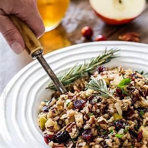 one-pot-cranberry-apple-pecan-wild-rice-pilaf-perfect image