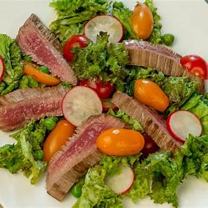 steak-salad-with-fish-sauce-dressing-so-delicious image