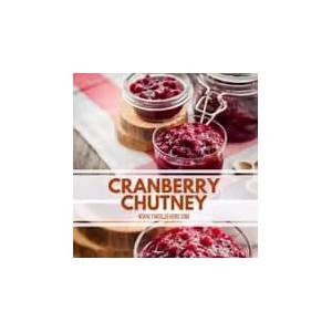 a-sweet-and-spicy-cranberry-chutney-recipe-diet image