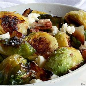 roasted-brussels-sprouts-with-feta-side-dish image