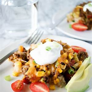 easy-mexican-ground-beef-casserole-my-everyday-table image