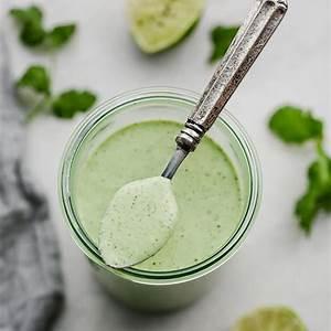 creamy-cilantro-lime-dressing-cafe-rio-copycat image