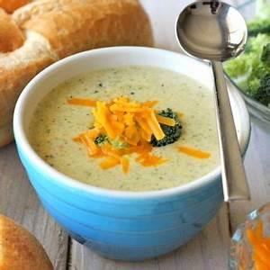 cream-of-broccoli-cheese-soup-damn-delicious image