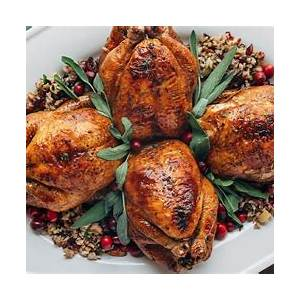 cornish-hens-with-apple-cranberry-rice-stuffing-striped image