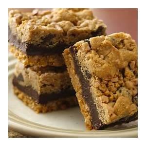 fudgy-chocolate-chip-toffee-bars-recipe-pillsburycom image
