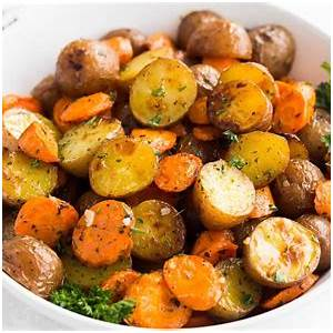 roasted-potatoes-and-carrots-the-little-potato-company image
