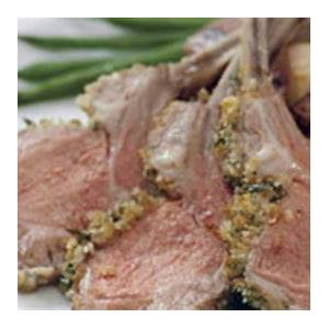 herb-crusted-rack-of-lamb-recipe-finecooking image